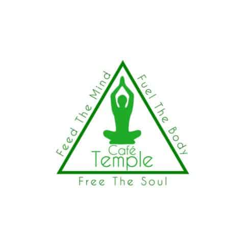 logo temple cafe