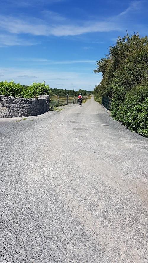 gravel road Gort's mini-greenway