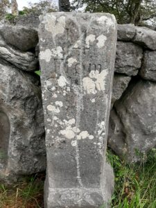 Old Irish Mile Stones Ardrahan