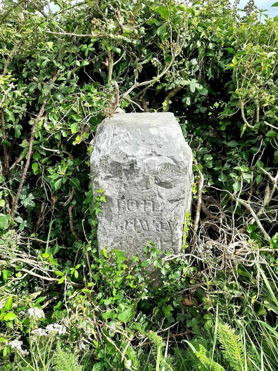 Irish Mile Stone