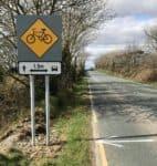 1.5 meter Distance Traffic Sign